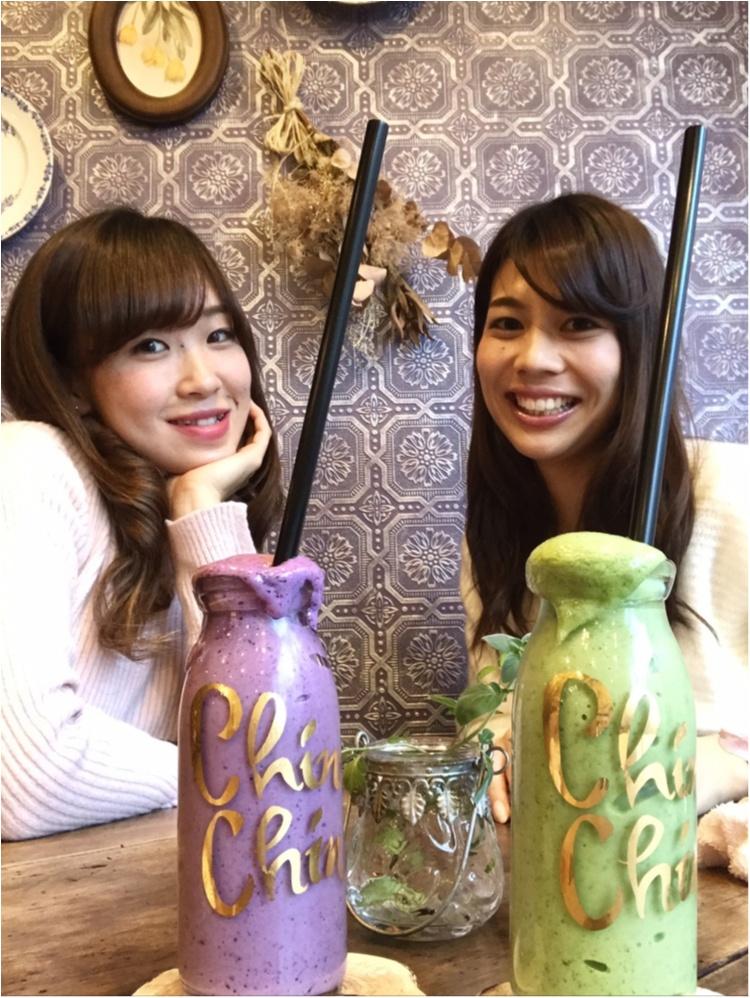 【CAFE】#恵比寿カフェ 可愛いスムージー♡実はこのお店、〇〇なんです!!_3