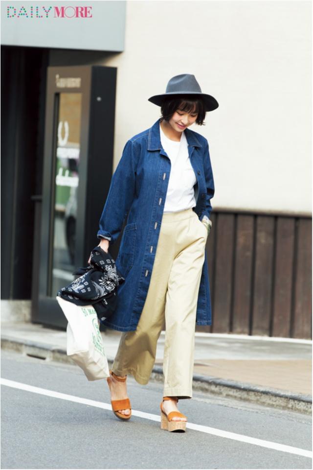 【今日のコーデ/篠田麻里子】マイペースに過ごしたい木曜日はトレンドのゆる×ゆるコーデ。_1