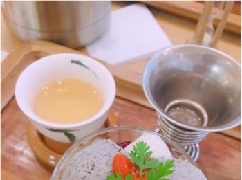 中国茶のお店【茶語】で《中国茶とオリエンタルパフェ》いただいてきました!
