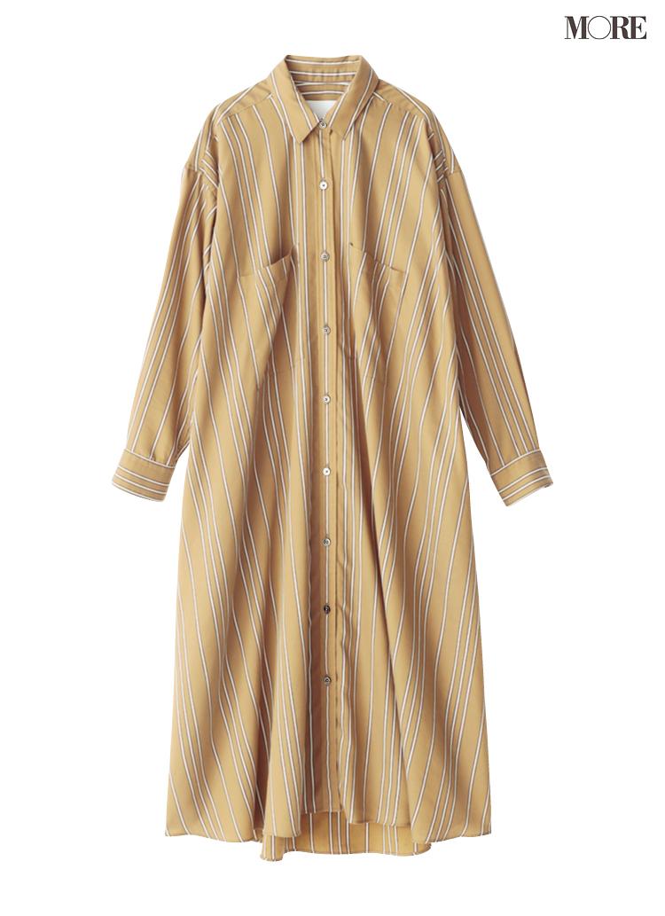 「ベージュのシャツワンピース」一枚あれば、ほとんどの場面を乗り切れると言っても過言ではないのだ!_5