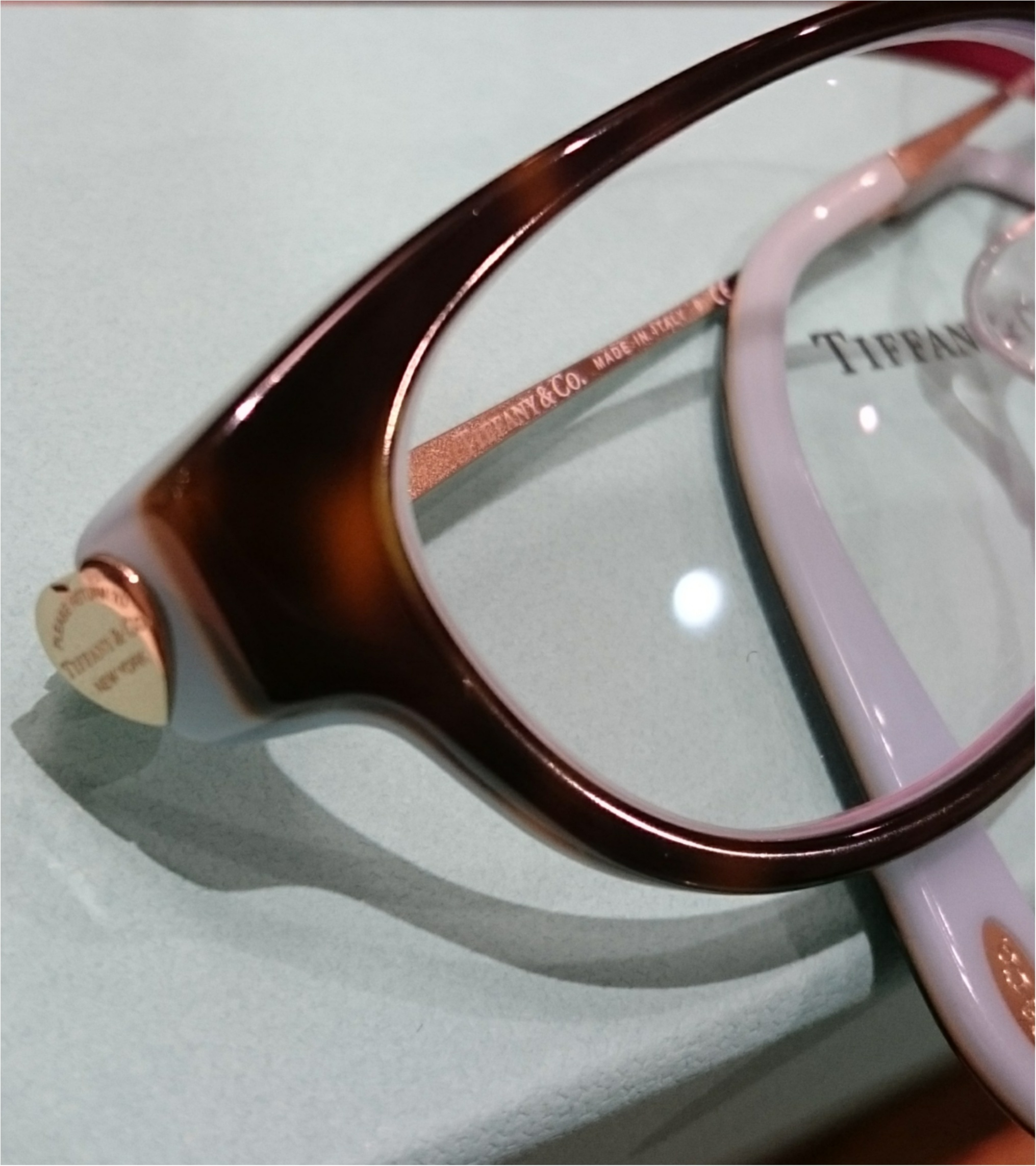 ティファニーの眼鏡で気分UP_2