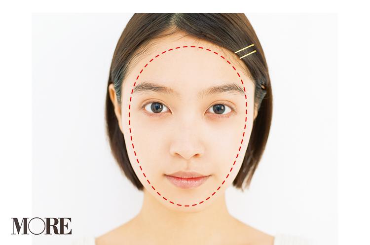 肌色補正やシェーディングで簡単に! 今すぐ小顔になれる「ベースメイク」テク♡_3_2