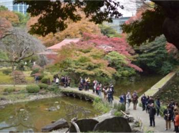 【後楽園】小石川後楽園の紅葉