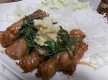 【おうちで作るごはんがやっぱりおいしい!】豚肉のみょうが巻き