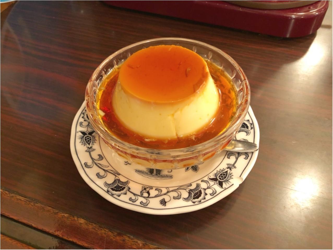 《 東京 》レトロな喫茶店『 ヘッケルン 』で頂く、昔ながらのビッグプリンが絶品♡♡_3