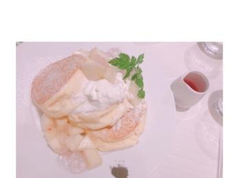 幸せなパンケーキ♡