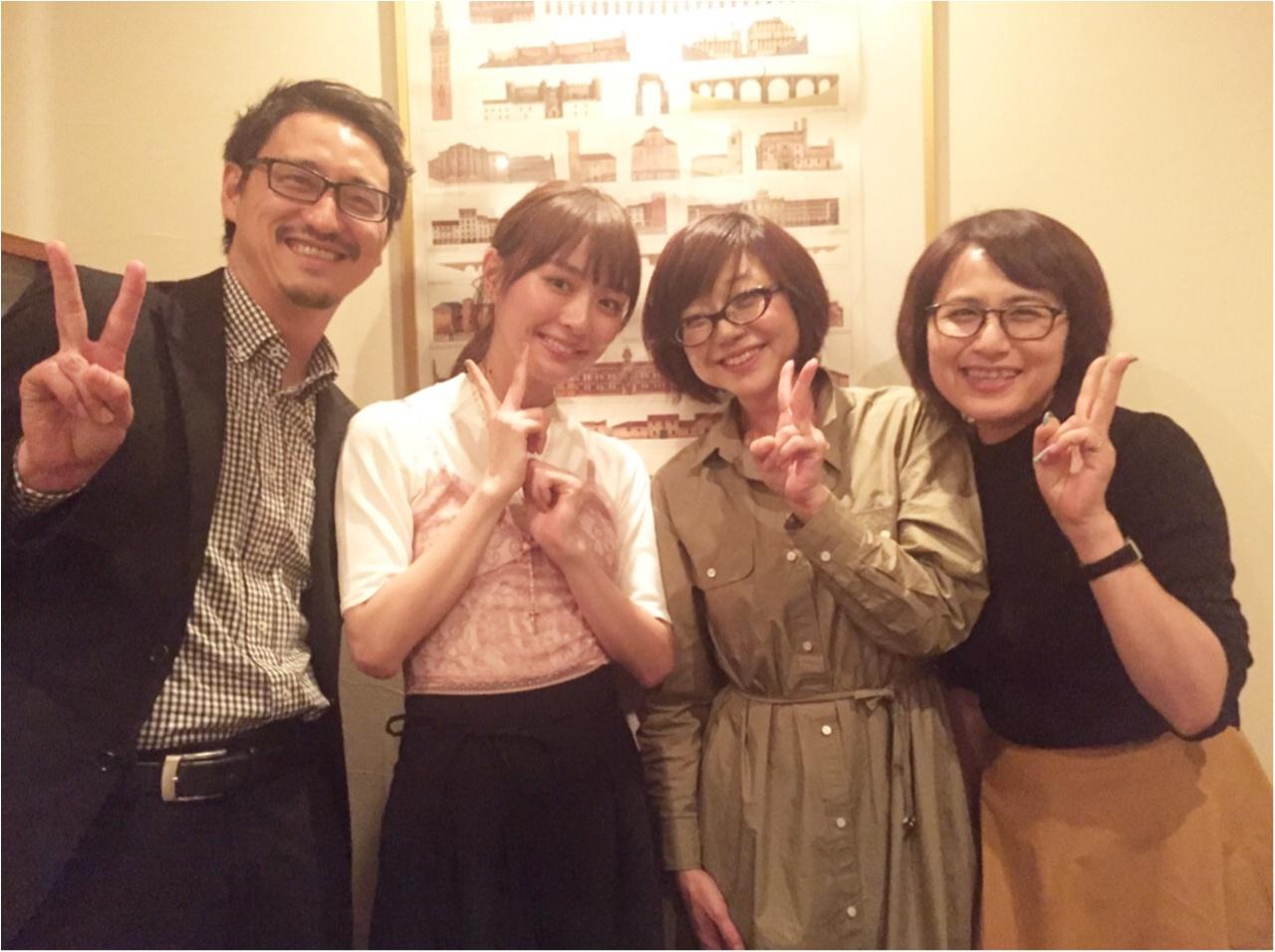 だーりお・内田理央ちゃん、ディナーに現る!_1