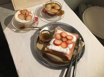 《京都グルメ女子旅》インスタ映えトースト『LITT UP.KYOTO』
