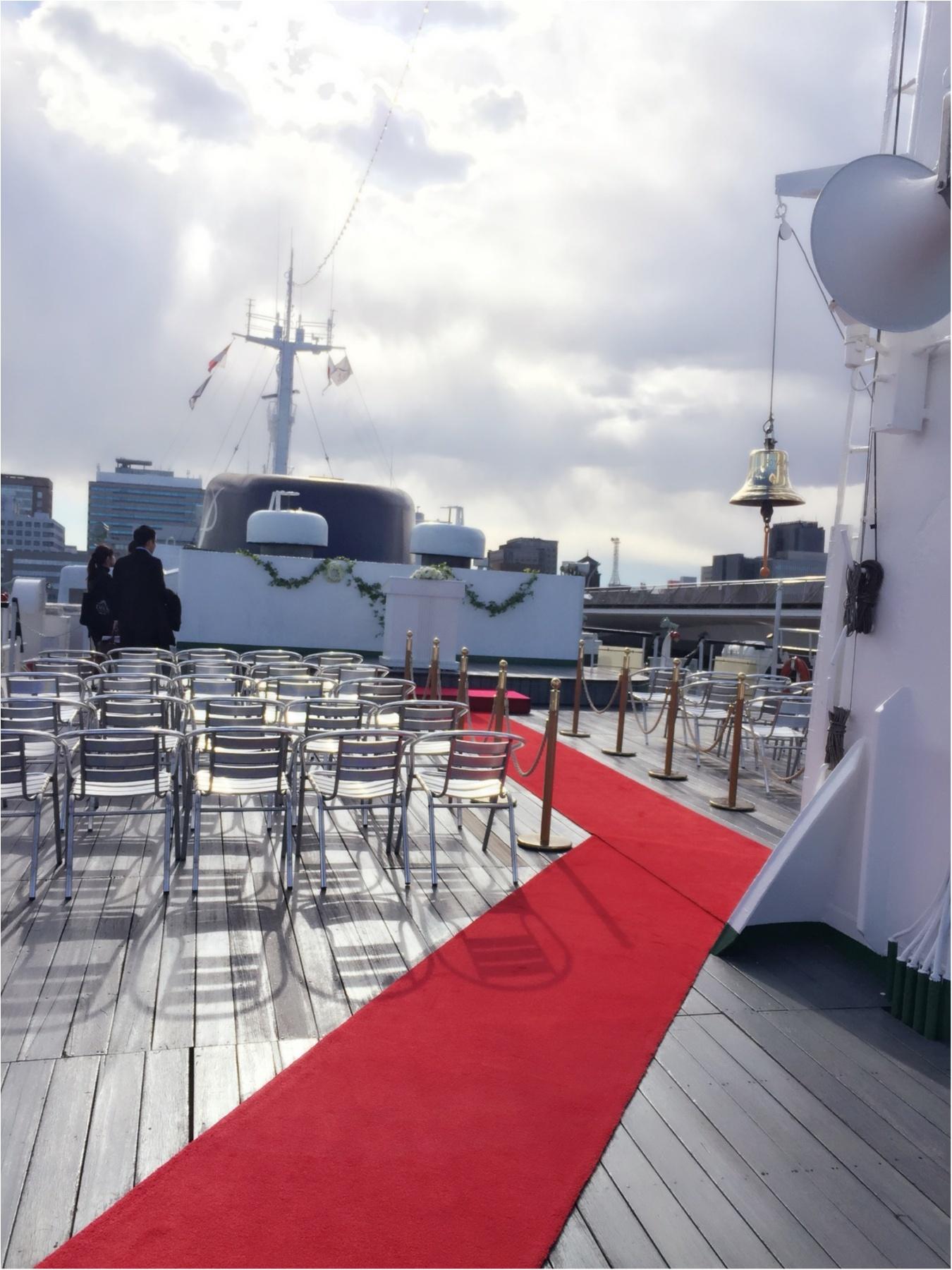 船上ウェディングで人とは違う結婚式をしてみませんか⁇憧れのロイヤルウイングでブライダルフェアに参加してきました(*'ω'*)〜ドレス・会場編〜_3