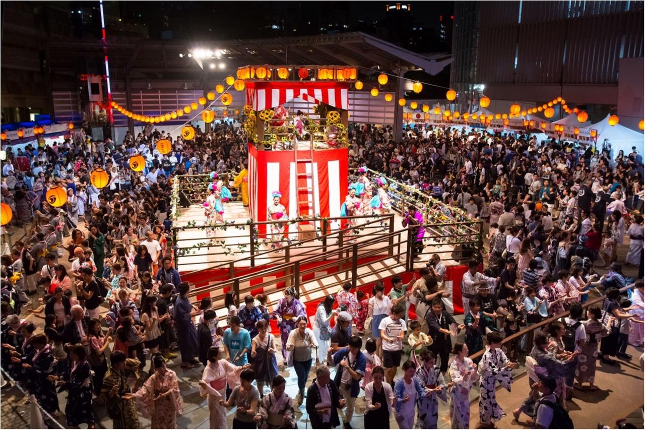 【8/25〜27の3日間限定】六本木ヒルズ盆踊りが今年もやってきた! グルメ屋台で祭り気分を盛り上げよう☆_1