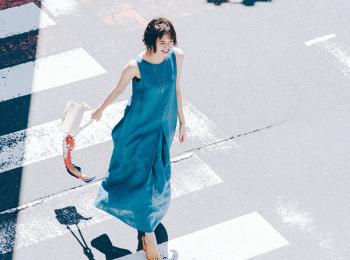 【靴とバッグ】でガラリと変わる! いまどきワンピースは小物使いで差をつけて♡