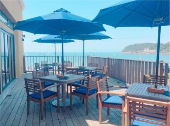海が見えるテラス席があるレストラン♡逗子『CANTINA』のランチ✨