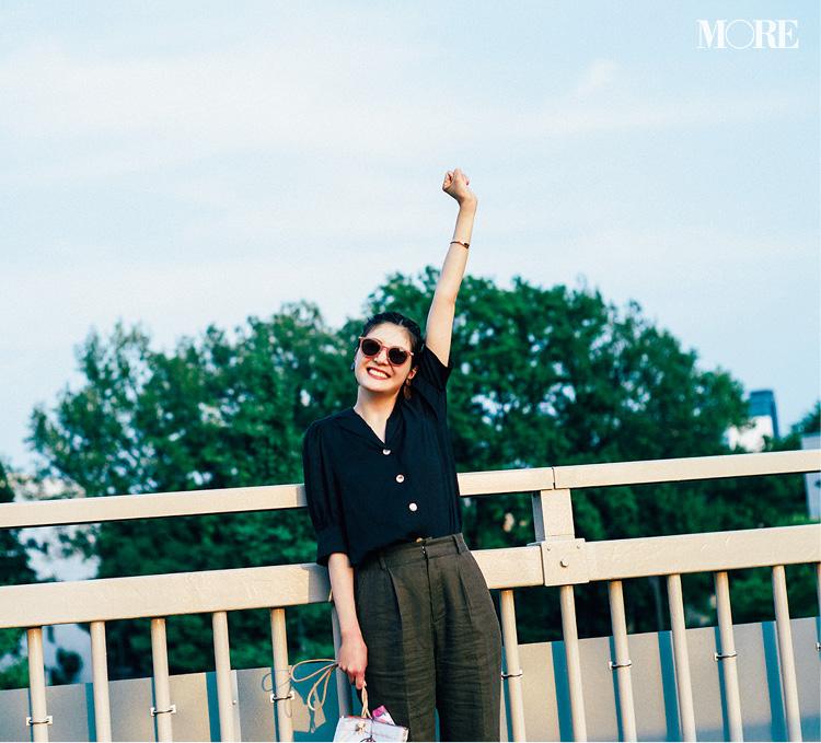 """シャツ派は佐藤ありさをお手本に♡ この""""4枚のシャツ""""で軽やかに夏を乗り越える!_6"""