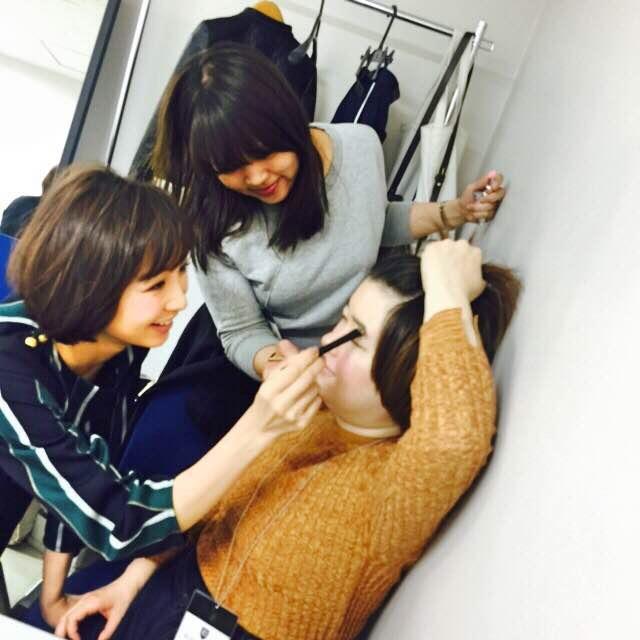 【オフショット】ヘア&メイク篠田麻里子☆_2
