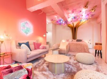原宿『MOSHI MOSHI ROOMS』の「Kawaii caltural room!! in harajuku」で、お泊り女子会したすぎる件♡【#桜 2019 4】