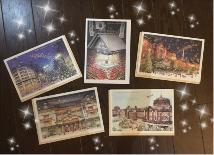 【クリスマスカード】サンタさんが東京観光?!プレゼントに添えたら喜ばれる!キュートなサンタさんがいっぱいのクリスマスカード♡♡_5