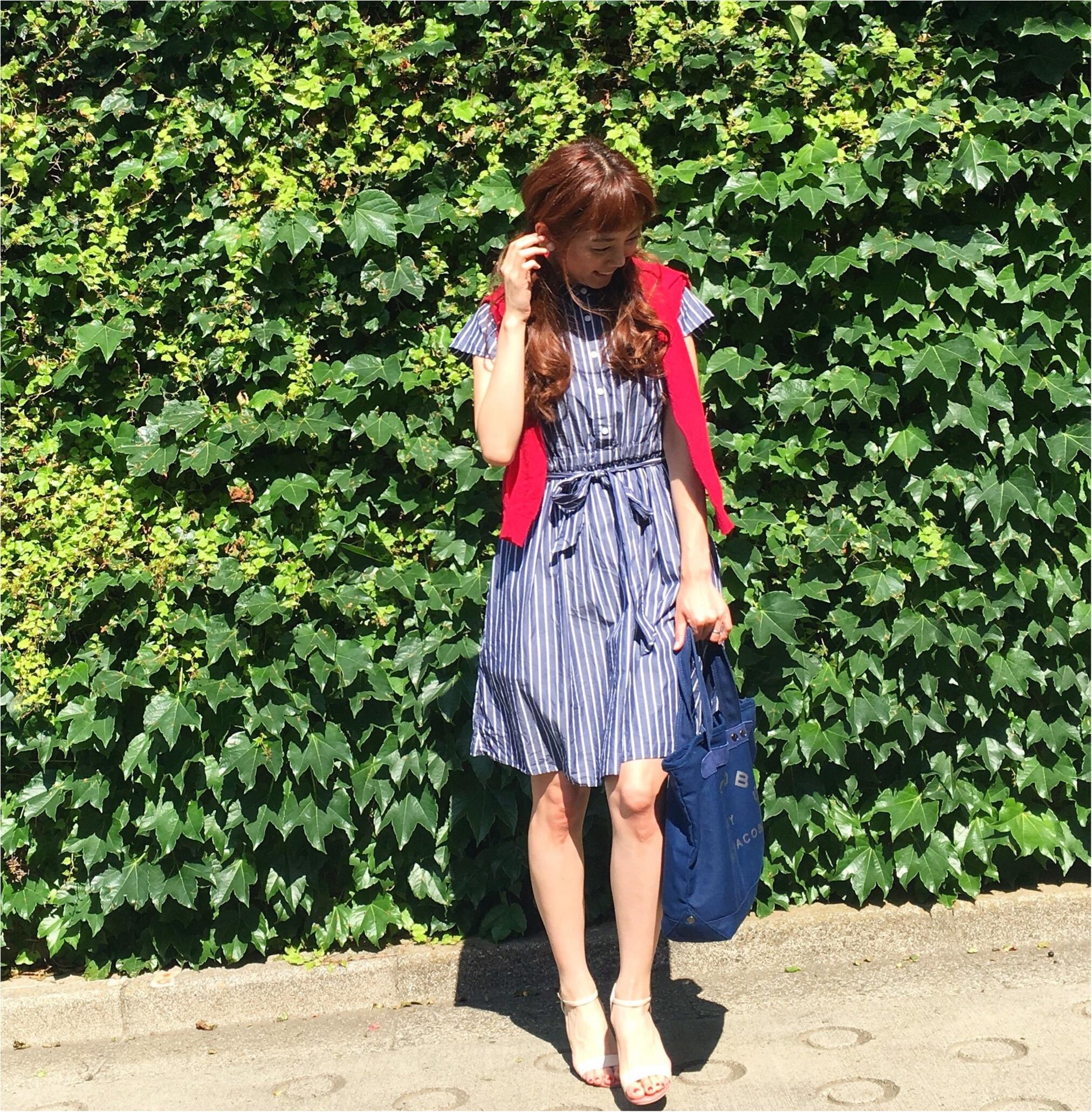 2017夏のトレンド☆ストライプ柄☆Flower Daysのストライプ柄のワンピースがかわいい♡_4