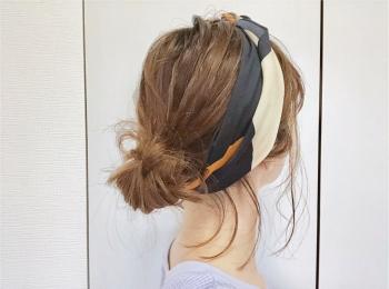 《トレンドアイテムで1分ヘアアレンジ》暑い日にも忙しい朝にも【スカーフ】がお役立ち❤️