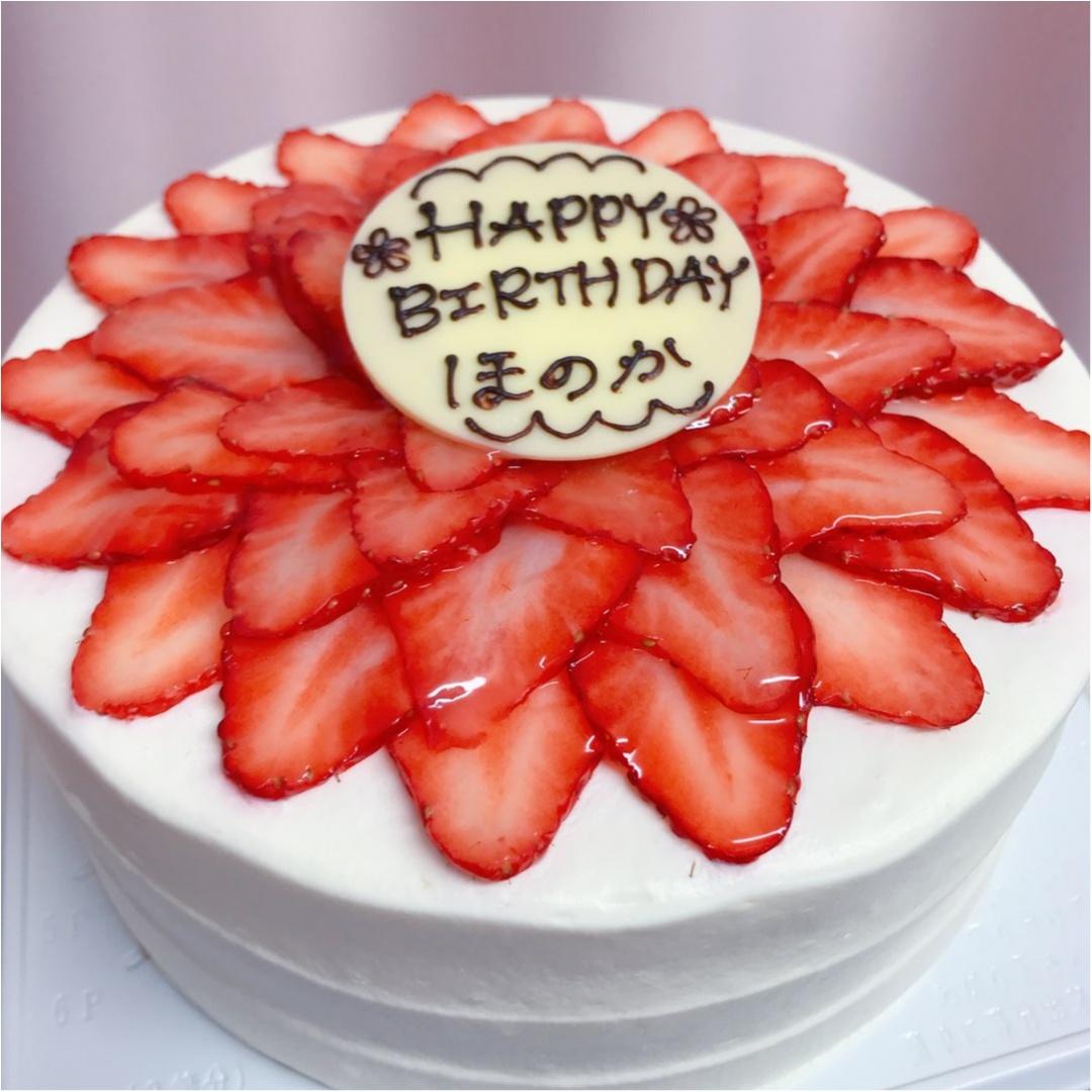 【BirthDayGirl♡】可愛いケーキと先取りお祝いしていただきました!!_1
