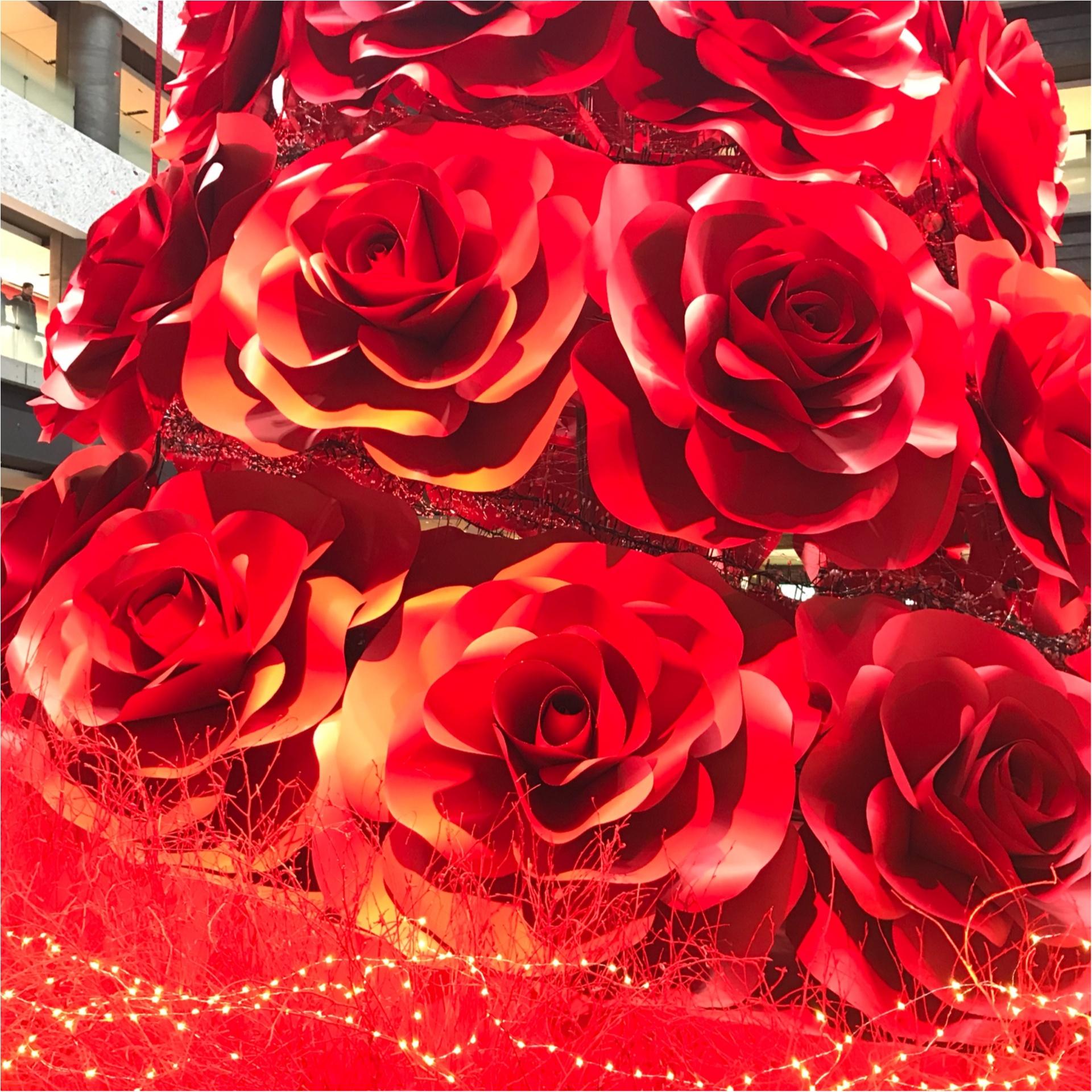 ★これこそLADY♡なクリスマスツリー!梅田に真っ赤なツリーが登場です★_3