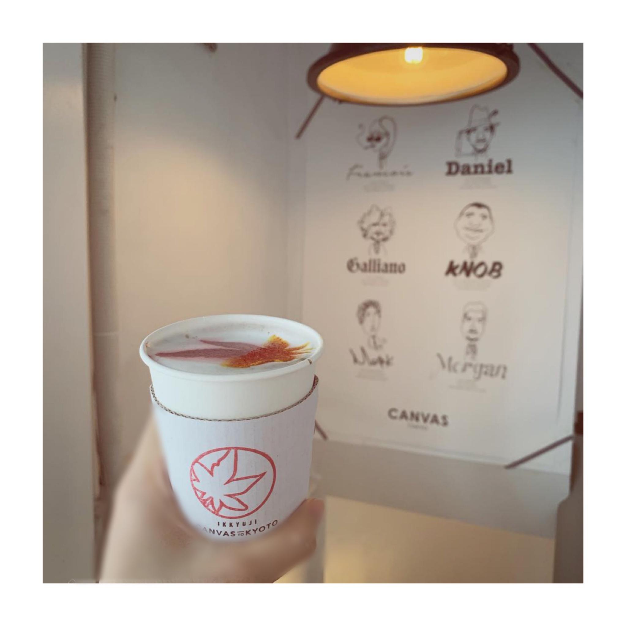#19【#cafestagram】❤️:《東京•広尾》〜11/25まで期間限定!大人気カフェ『CANVAS TOKYO』で飲める紅葉のカラーラテをチェック☻_6