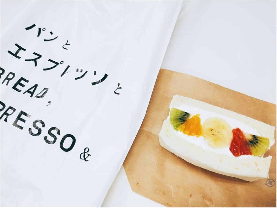 あの「パンとエスプレッソと」がフルーツ屋さんとコラボして作ったフルーツサンド♡_1