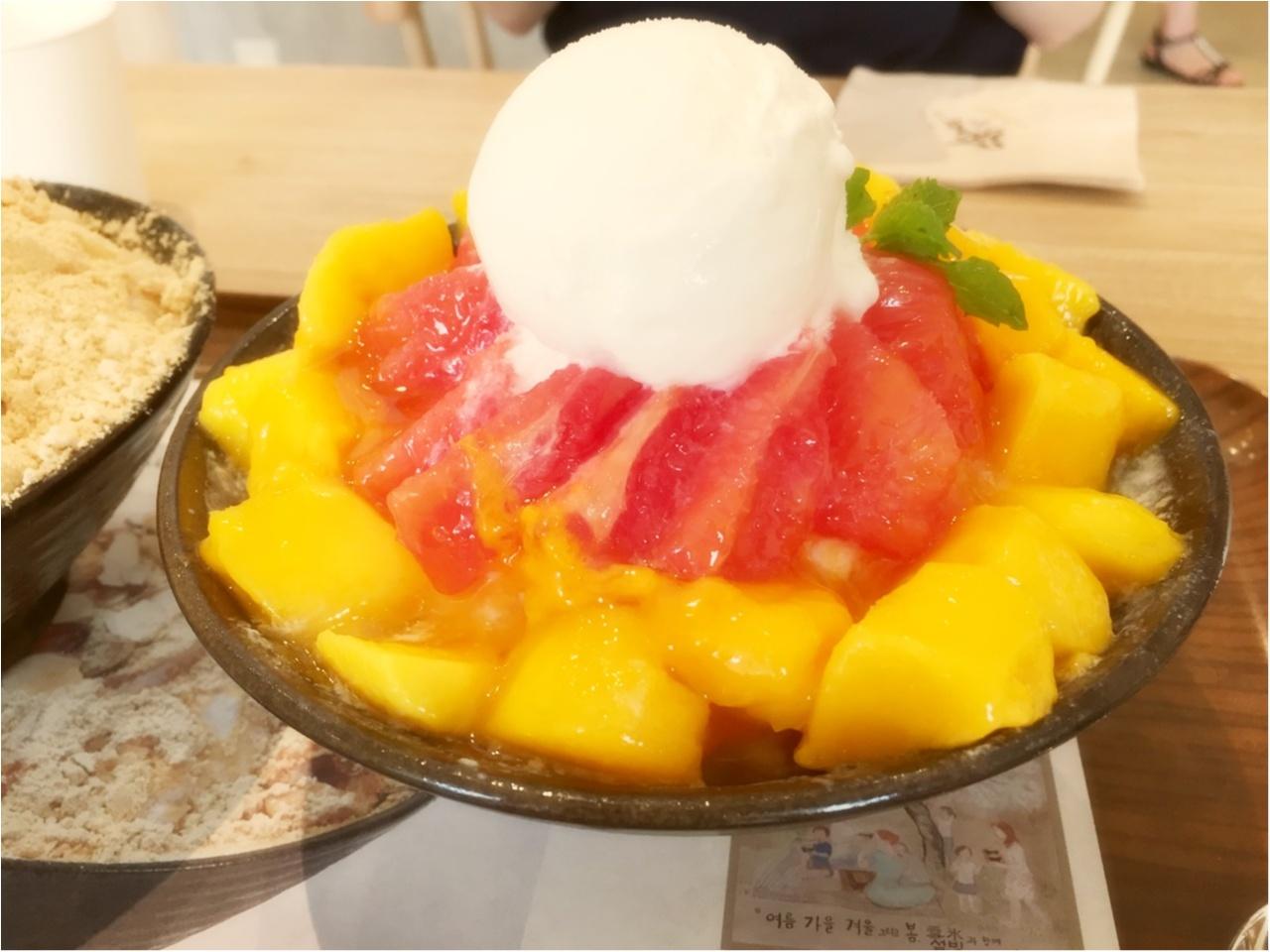 日本初上陸!韓国の人気かき氷店『ソルビン』が熱い!!!気になる待ち時間と人気メニューをチェック♡*_5