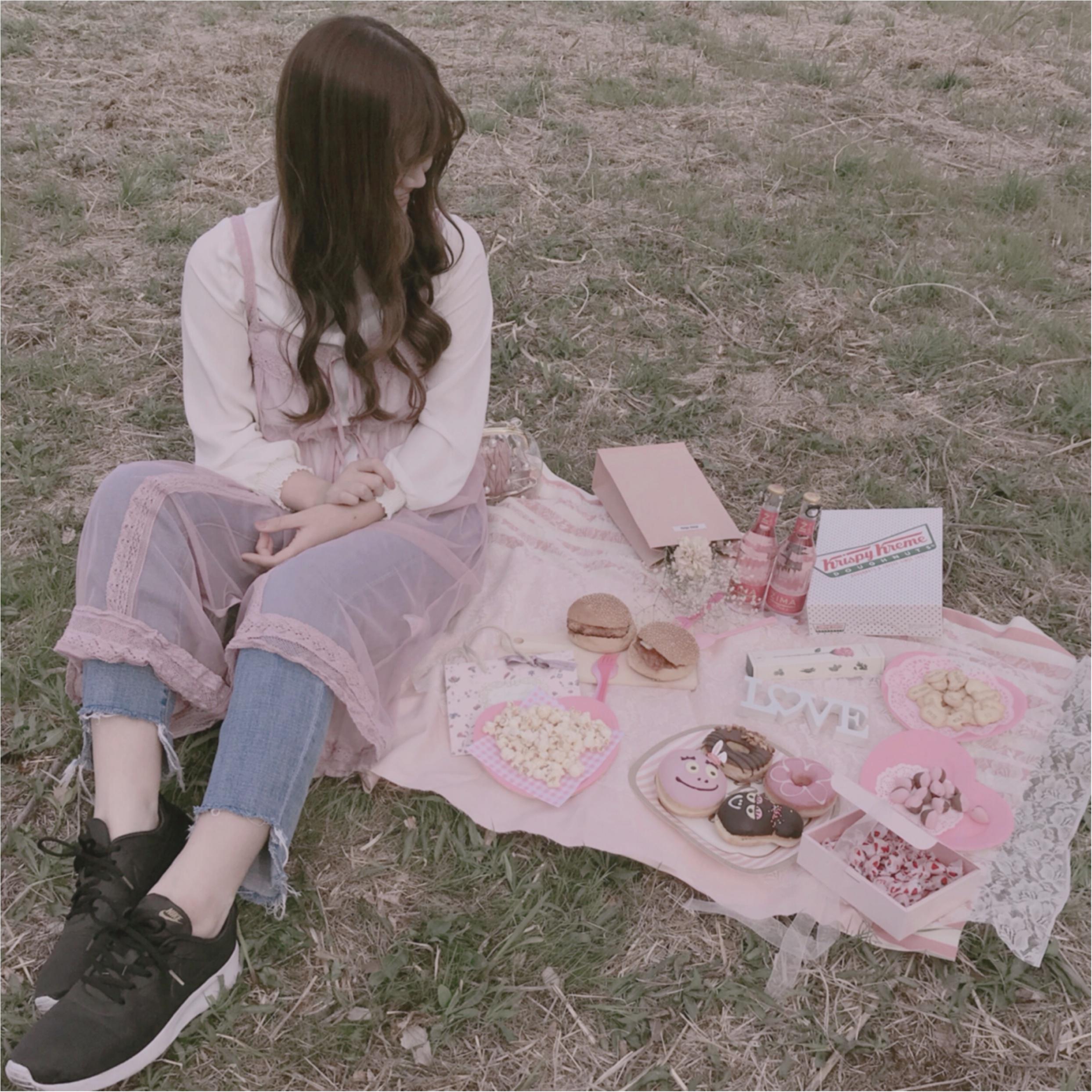 桜の下でピクニック❤︎簡単におしゃれでかわいい【おしゃピク】できます!_8