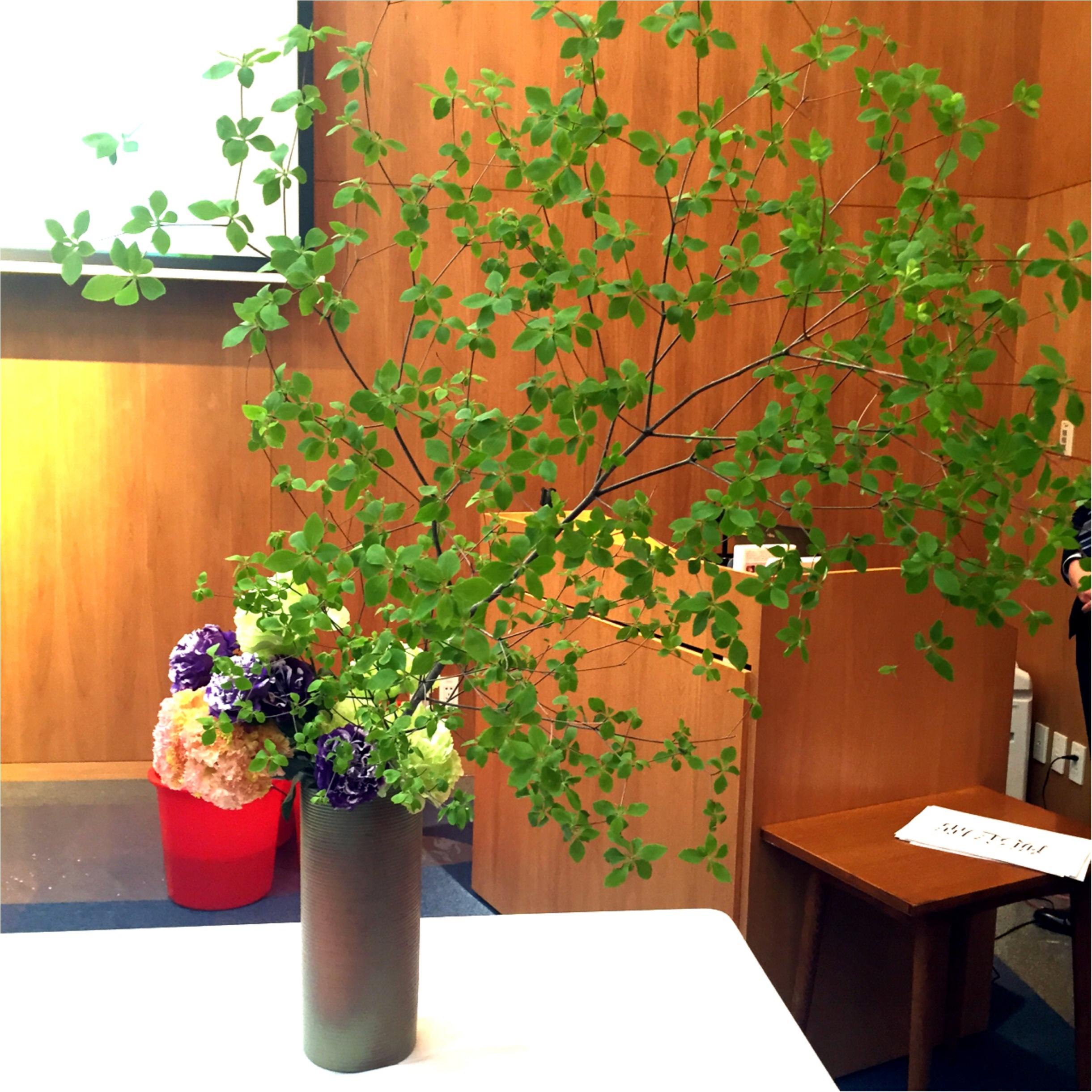 日本文化を世界に発信♪假屋崎省吾さんの華道イベント♡_2