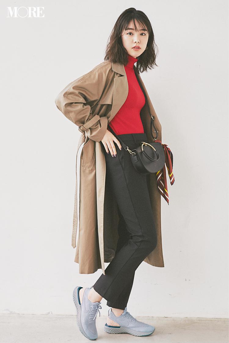 20代女子に似合う【きれいめの服×スニーカー】のコーデまとめ | ファッション_1_13