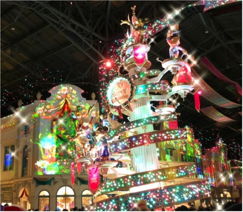 ディズニー グルメ ディズニーランド クリスマス ワールドバザール