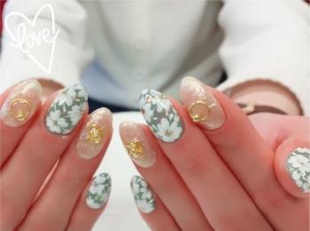 【春ネイル】ベラフォーマカラーを使った春色ネイル♡♡