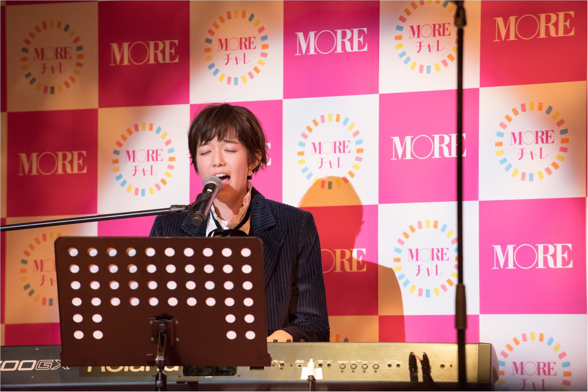 「モアチャレ」ついに完結☆ MORE40周年記念『モアチャレ』報告会イベントで、感動の涙と輝く笑顔に会えました!!!_4