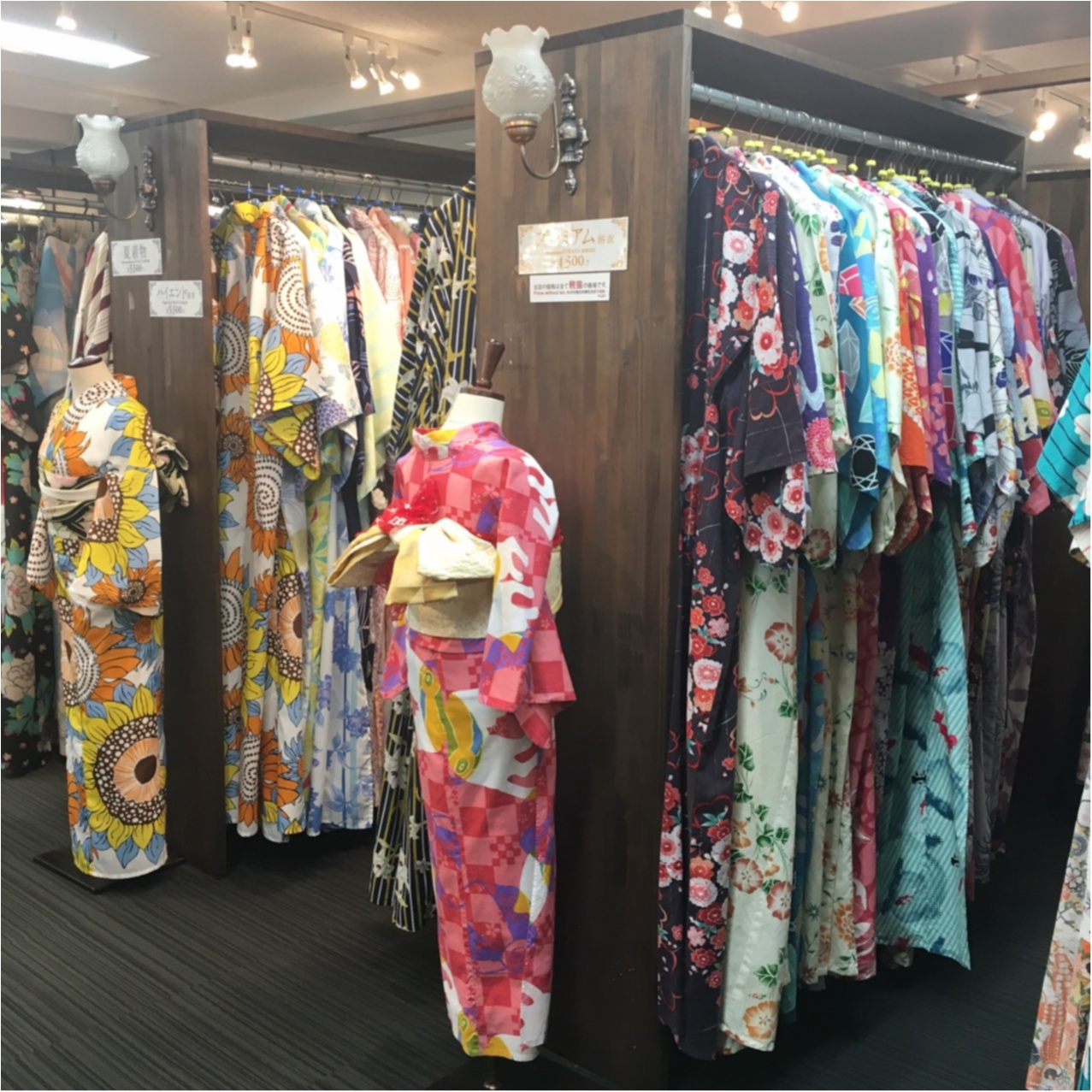 """夏は""""浴衣""""が着たい♡ 京都での思い出づくりにぴったり♪ カワイイのに低価格!?着物レンタルのお店 ♡_2"""