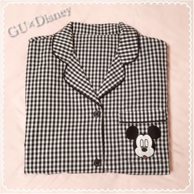【GU】話題のDisneyコラボパジャマから新作が登場!ワンピースタイプのパジャマも♡_1