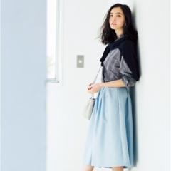 【今日のコーデ/比留川游】鮮度を上げたい火曜日は流行スカーチョにトライ!
