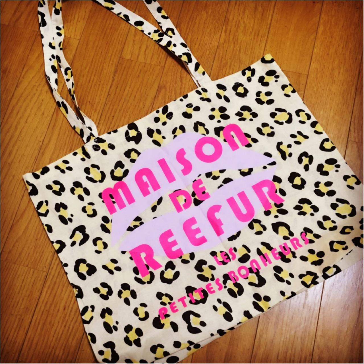 MAISON DE REEFUR 博多店の限定ショッパーがかわいい♡_1