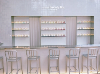 新スポット!話題の資生堂『S/PARK(エスパーク)』へ〜cafe and Beauty Bar編〜