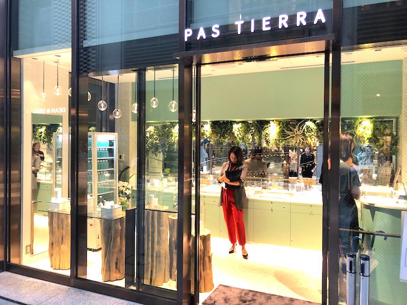 パティエラ初の直営店
