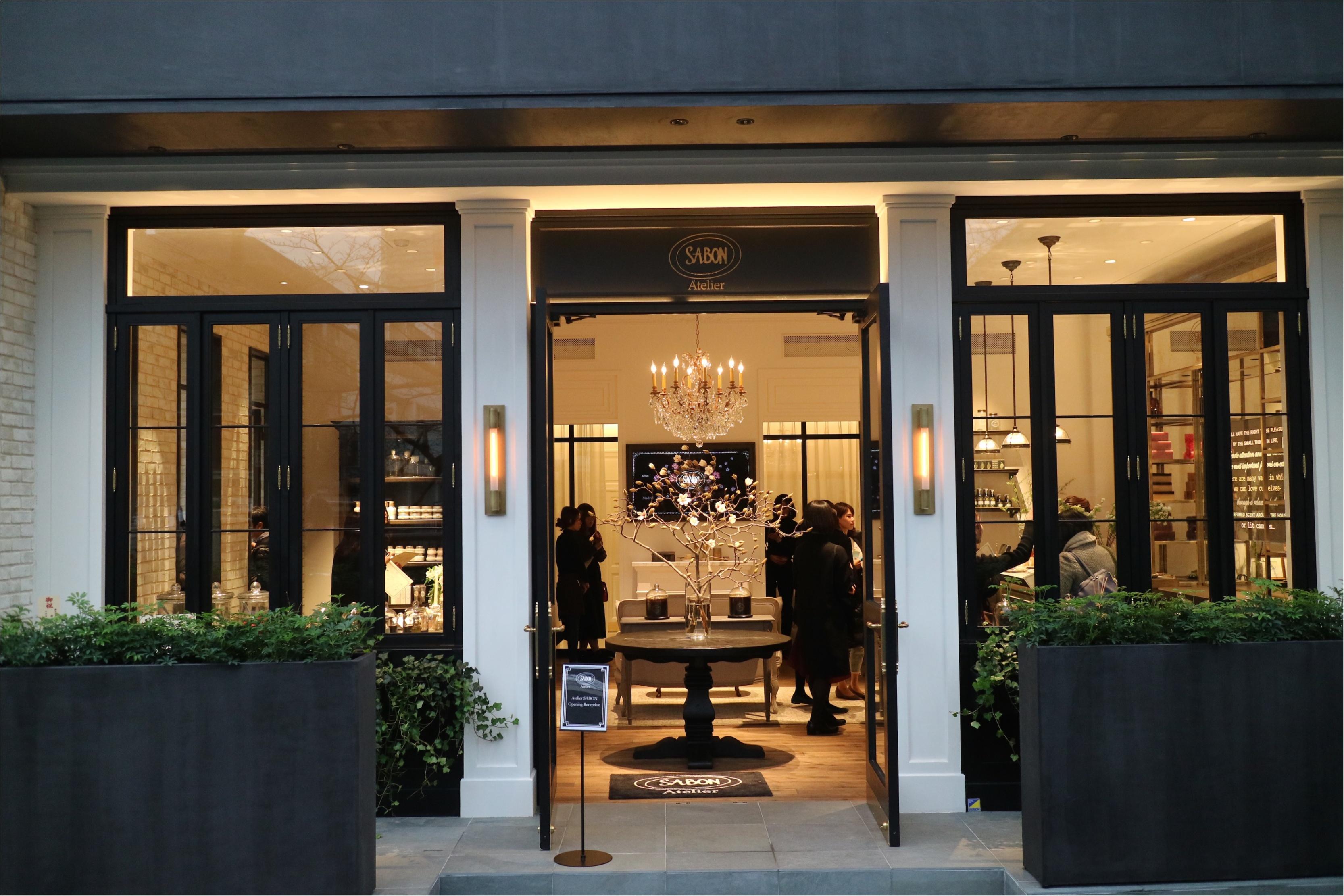 美術館のような店内に、ドキドキとトキメキが止まらない♡ 『Atelier SABON』が1/20(土)中目黒にオープン!_1_1