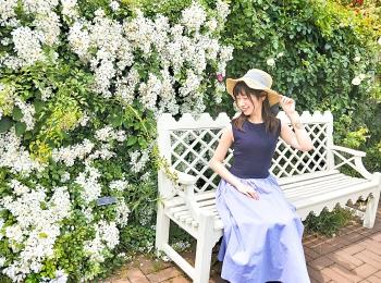 【横浜イングリッシュガーデン】ローズに囲まれて写真を撮ろう♥