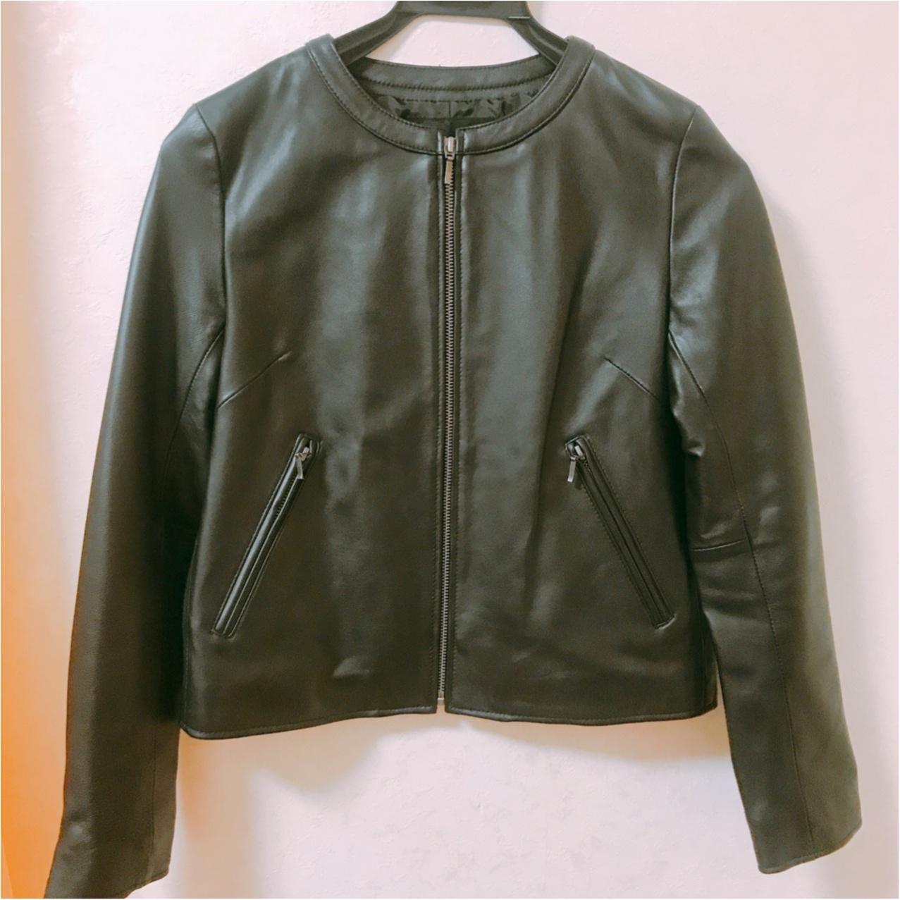 【アラサーのお買い物事情】長く使える良いものを♡大人可愛く着られるリアルレザージャケットって?_1