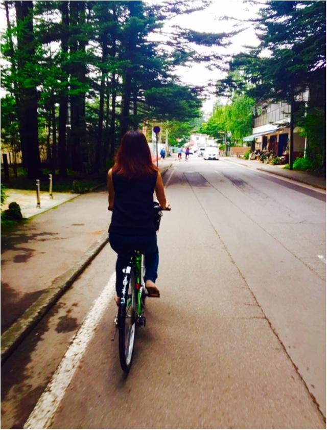 夏は避暑地の軽井沢へ★②貸し自転車でのんびーりゆの散歩_9