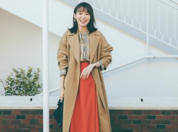 「きれいすぎない新しいトレンチコート」が春のおしゃれを左右する! スカート派にススメる7着はこれ☆