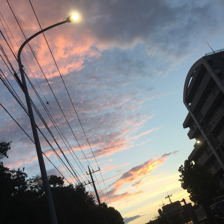 虹が...✨✨_3