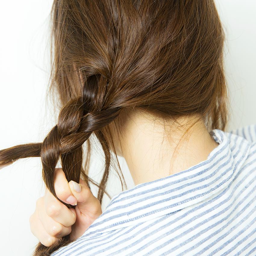 次くるヘアアレンジ5つのHOT TIPS♡『三つ編みはあえての激タイト!』_5