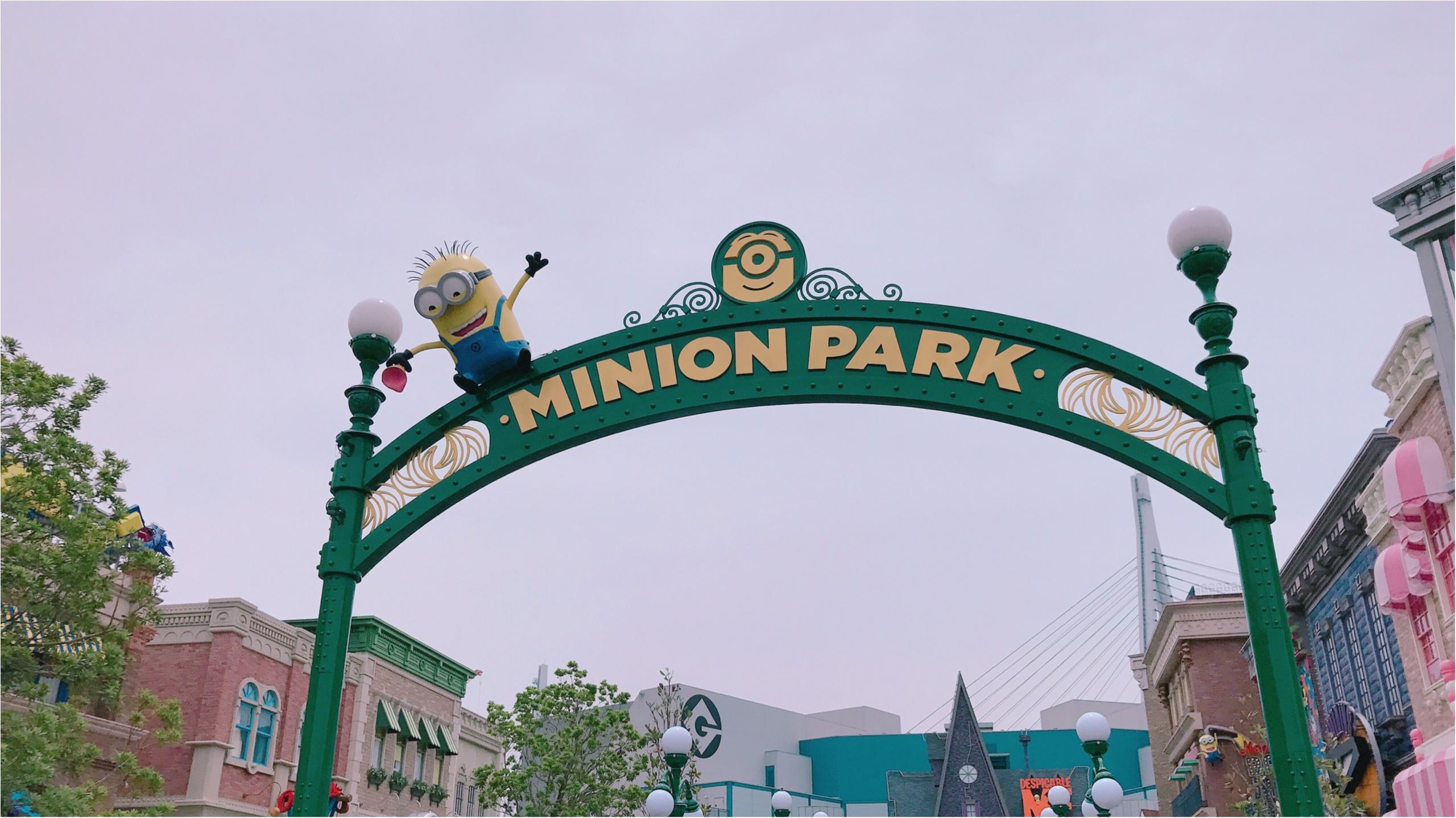 ★あっちもこっちもミニオンだらけ!ユニバの新スポット『ミニオン・パーク』いって来ました★_1