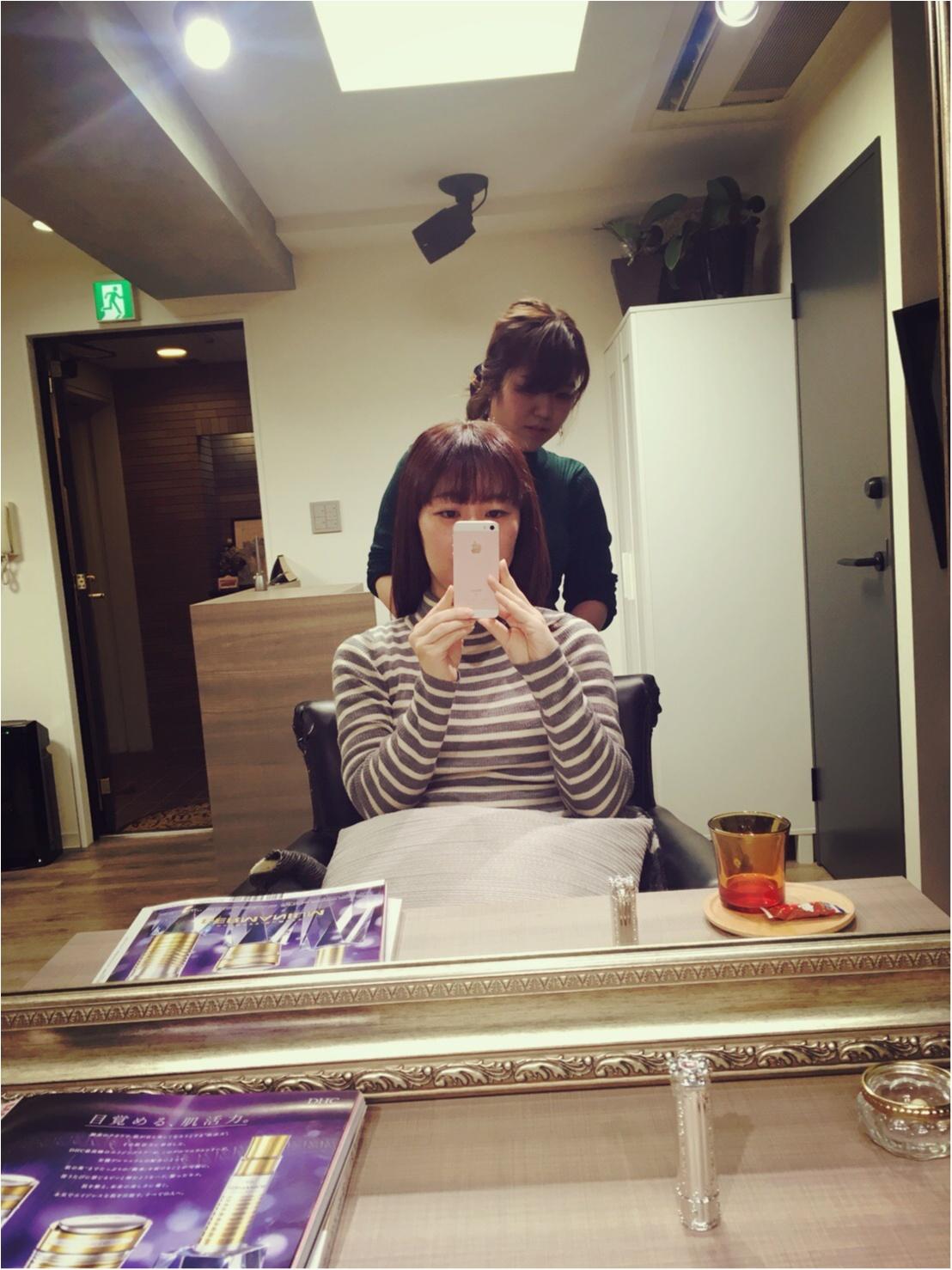 うるツヤヘアーに大変身!銀座の完全予約制の美容室でゆったり〜_3