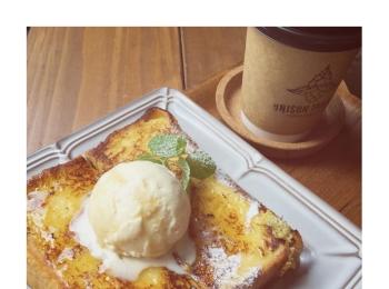 #18【#cafestagram】❤️:《東京•人形町》都内で絶品フレンチトーストを食べるならココ☝︎『UNISON TAILOR』☻