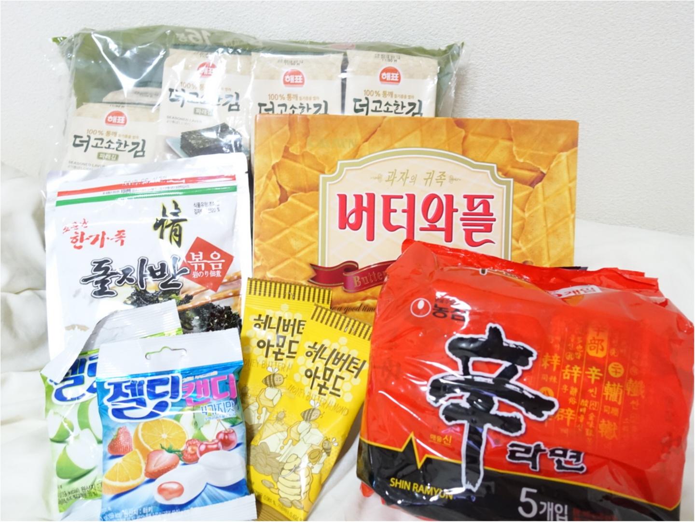 弾丸韓国で購入したお土産たち。食べ物やらコスメも賢くお買い物♡_2